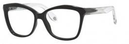 Givenchy 0008 Eyeglasses Eyeglasses - 0AM3 Black Crystal