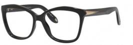 Givenchy 0008 Eyeglasses Eyeglasses - 0QOL Shiny Black