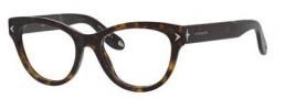 Givenchy 0012 Eyeglasses Eyeglasses - 0086 Dark Havana