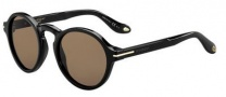 Givenchy 7001/S Sunglasses Sunglasses - 0807 Black (8U dark brown lens)