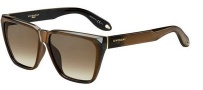 Givenchy 7002/S Sunglasses Sunglasses - 0R99 Brown Mirror (J6 brown gradient lens)
