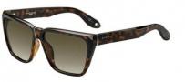 Givenchy 7002/S Sunglasses Sunglasses - 0LSD Dark Havana (HA brown gradient lens)