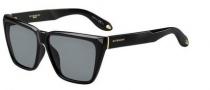 Givenchy 7002/S Sunglasses Sunglasses - 0D28 Shiny Black (E5 gray lens)