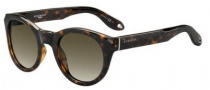 Givenchy 7003/S Sunglasses Sunglasses - 0LSD Dark Havana (HA brown gradient lens)