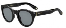 Givenchy 7003/S Sunglasses Sunglasses - 0D28 Shiny Black (E5 gray lens)