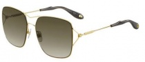 Givenchy 7004/S Sunglasses Sunglasses - 0J5G Gold (HA brown gradient lens)