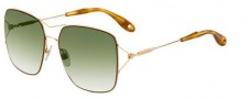 Givenchy 7004/S Sunglasses Sunglasses - 0DDB Gold Copper (CS green sf gdsp lens)