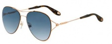 Givenchy 7005/S Sunglasses Sunglasses - 0DDB Gold Copper (DD blue sf gdsp lens)