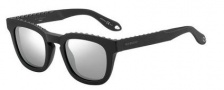 Givenchy 7006/S Sunglasses Sunglasses - 0807 Black (T4 black mirror lens)