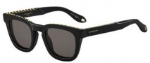 Givenchy 7006/S Sunglasses Sunglasses - 0807 Black (NR brown gray lens)