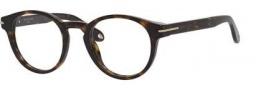 Givenchy 0002 Eyeglasses Eyeglasses - 0086 Dark Havana