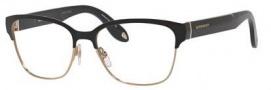 Givenchy 0004 Eyeglasses Eyeglasses - 0WRU Shiny Black Gold