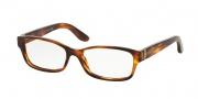 Ralph Lauren RL6139 Eyeglasses Eyeglasses - 5007 Striped Havana