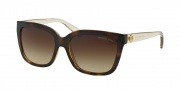 Michael Kors MK6016 Sunglasses Sunglasses - 305413 Tortoise Smokey Transparent / Smoke Gradient