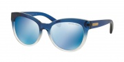 Michael Kors MK6035 Sunglasses Sunglasses - 312255 Blue Clear Gradient / Blue Mirror