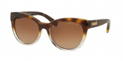 Michael Kors MK6035 Sunglasses Sunglasses - 312513 Tortoise Clear / Brown Gradient