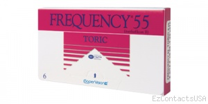Frequency 55 Toric Contact Lenses - Frequency