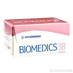 Biomedics 38 Contact Lenses - Biomedics
