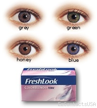 FreshLook Colorblends Toric Contact Lenses - FreshLook