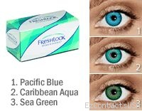 Freshlook Dimensions Sea Green >> Freshlook Dimensions Contact Lenses | Colorblend Contact Lenses by Freshlook