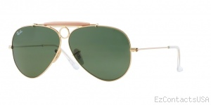 Ray Ban RB3138 Shooter Sunglasses  - Ray-Ban