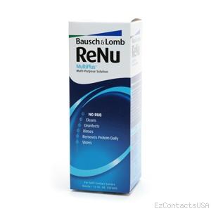 ReNu MultiPlus Multi-Purpose Solution (No Rub) 4oz - Renu