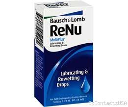ReNu MultiPlus Lubricating and Rewetting Drop 8ml - Renu