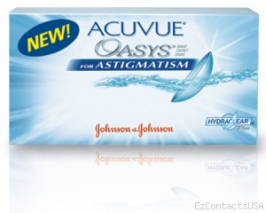Acuvue Oasys for Astigmatism - Acuvue