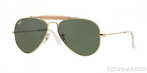 Ray-Ban RB3407 Sunglasses Outdoorsman II Rainbow  - Ray-Ban