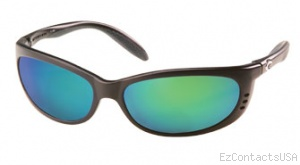 Costa Del Mar Fathom Sunglasses Matte Black Frame - Costa Del Mar