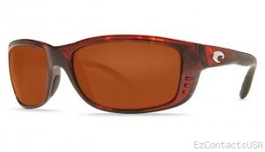 Costa Del Mar Zane Sunglasses - Shiny Tortoise Frame - Costa Del Mar