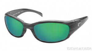 Costa Del Mar Hammerhead Sunglasses Silver Teak Frame - Costa Del Mar