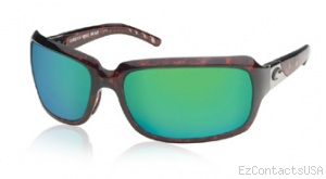 Costa Del Mar Isabela Sunglasses Shiny Tortoise Frame - Costa Del Mar