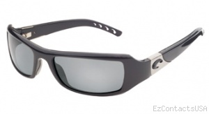 Costa Del Mar Santa Rosa Sunglasses Shiny Black Frame - Costa Del Mar
