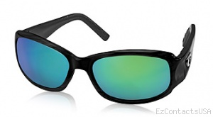 Costa Del Mar Vela Sunglasses Shiny Black Frame - Costa Del Mar