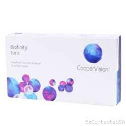 Biofinity Toric Contact Lenses - Biofinity