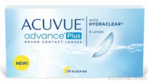 Acuvue Advance Plus Contact Lenses - 6 Pack - Acuvue