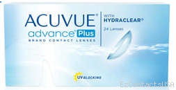 Acuvue Advance Plus Contact Lenses - 24 Pack - Acuvue