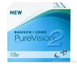 Purevision 2 HD Contact Lenses - PureVision