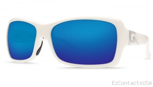 Costa Del Mar Islamorada Sunglasses - White Frame - Costa Del Mar