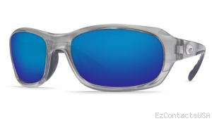 Costa Del Mar Tag Sunglasses - Silver Frame - Costa Del Mar