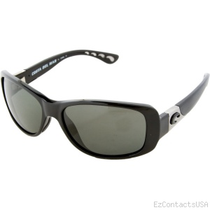 Costa Del Mar Tippet Sunglasses - Black Frame  - Costa Del Mar