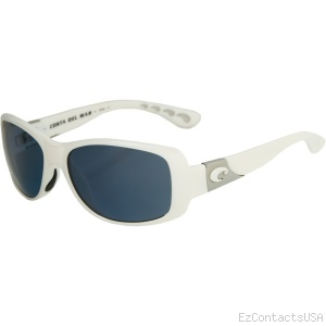 Costa Del Mar Tippet Sunglasses - White Frame  - Costa Del Mar
