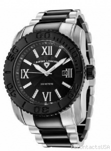 Swiss Legend SB Commander 3H Bracelet Watch 10059  - Swiss Legend