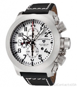 Swiss Legend Militare No. 1 Watch 1101 - Swiss Legend