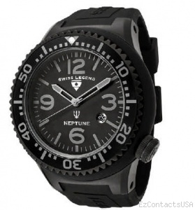 Swiss Legend Neptune Pilot IP Watch 11818 - Swiss Legend