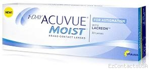 1-Day Acuvue Moist for Astigmatism 30 Pack - Acuvue