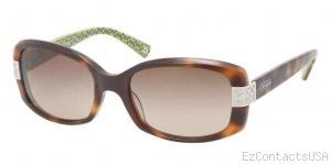 Coach HC8003A Sunglasses Lillian  - Coach