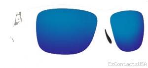 Costa Del Mar Caye Sunglasses White Frame - Costa Del Mar
