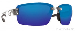 Costa Del Mar Galveston Sunglasses - Silver Frame - Costa Del Mar